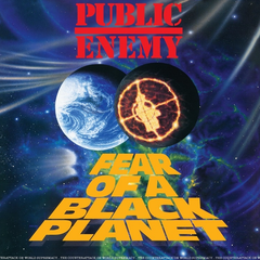 "Public Enemy - Fear Of A Black Planet (25th Anniversary Collector's Vinyl Edition  ""Fade To Black"" 3D Cover LP"