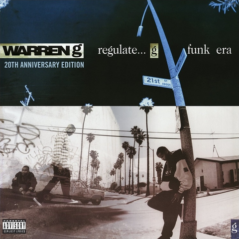 Warren G - Regulate ... G Funk Era 2LP (20th Anniversary Edition)