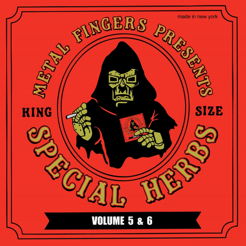 MF Doom - Special Herbs 5 and 6 2LP + 7-Inch
