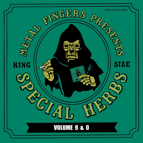 MF Doom - Special Herbs 9 and 0 2LP + 7-Inch
