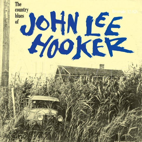 John Lee Hooker - The Country Blues Of LP