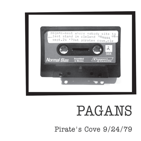 The Pagans - Pirate's Cover 9/24/79 LP