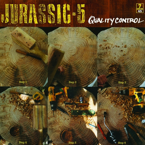 Jurassic 5 - Quality Control / Jarass Finish First 7-Inch