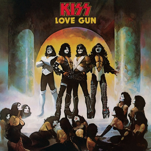 Kiss - Love Gun LP (180g Audiophile Remastered)