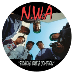 N.W.A. - Straight Outta Compton Picture Disc LP