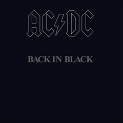 AC/DC - Back In Black LP (180g)