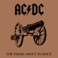 AC/DC - For Those About To Rock We Salute You LP (180g)