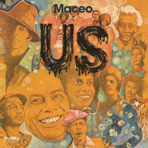 Maceo Parker - Us LP + Poster