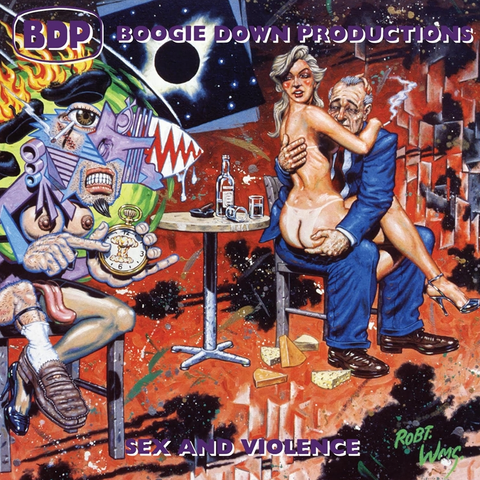 Boogie Down Productions - Sex And Violence 2LP