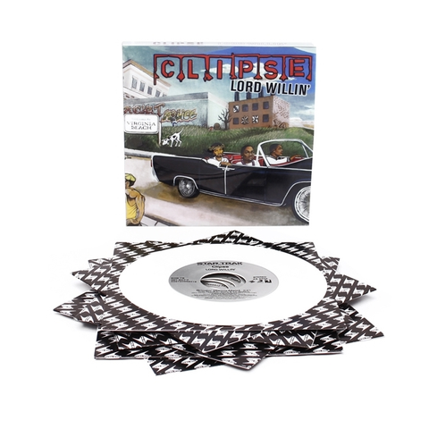 "Clipse - Lord Willin' (7x7"" Box, White Vinyl)"