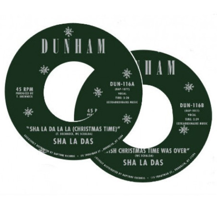 The Sha La Das - I Wish Christmas Time Was Over / Sha La Da La La (Christmas Time) 7-Inch