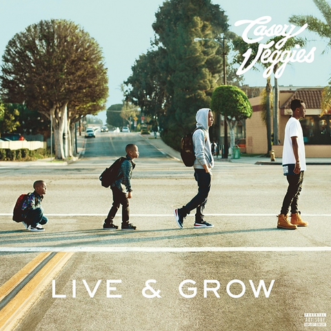 Casey Veggies - Live And Grow Limited Edition Colored 2LP + Download