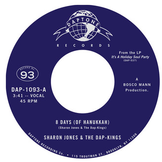 Sharon Jones - 8 Days (Of Hannukah) 7-Inch