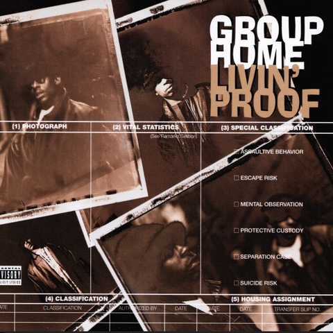 Group Home - Livin Proof Deluxe 3LP (Clear Vinyl