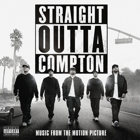 Straight Outta Compton - Music From the Motion Picture 2LP