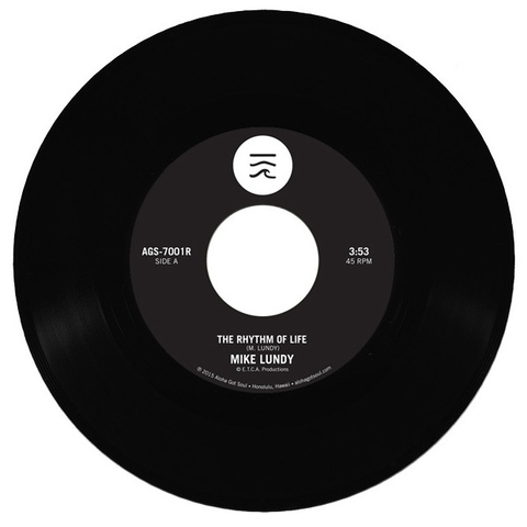 Mike Lundy - The Rhythm Of Life b/w Tropic Lightning 7-Inch