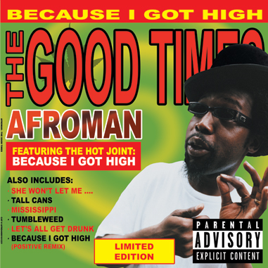 Afroman - The Good Times 2LP (Green Vinyl)