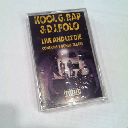 Kool G Rap & DJ Polo - Live and Let Die Cassette