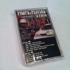 Rap's Best Pimps Players and Poets Cassette