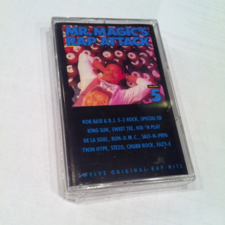 Mr. Magic - Rap Attack Volume 5 Cassette