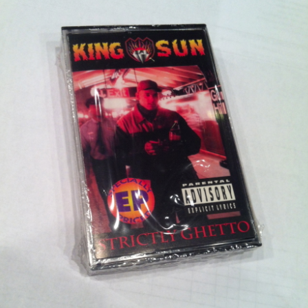 King Sun - Strictly Ghetto Cassette
