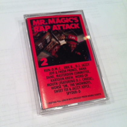Mr. Magic - Rap Attack Volume 2 Cassette
