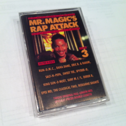 Mr. Magic - Rap Attack Volume 3 Cassette