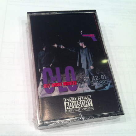 C-LO - 817 Most Wanted Cassette