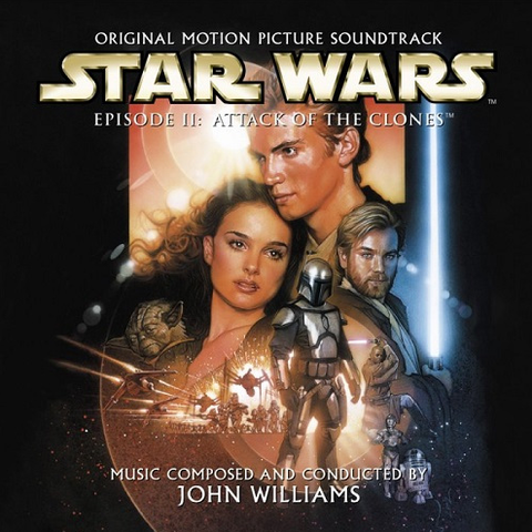 John Williams - Star Wars II : Attack Of The Clones 2LP Gatefold