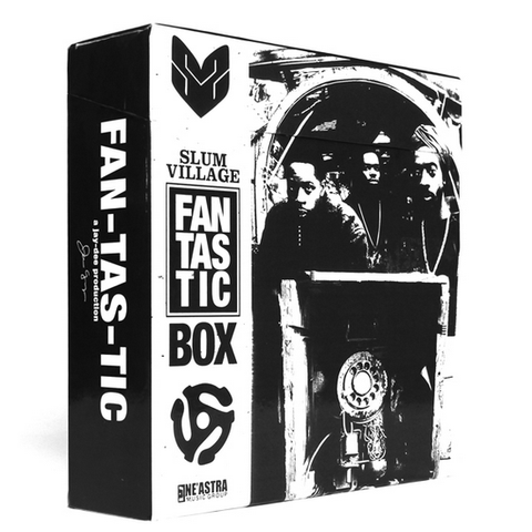 The Fantastic Box: A Jay-Dee Production (4 CD + 5 Seven Inch Records)