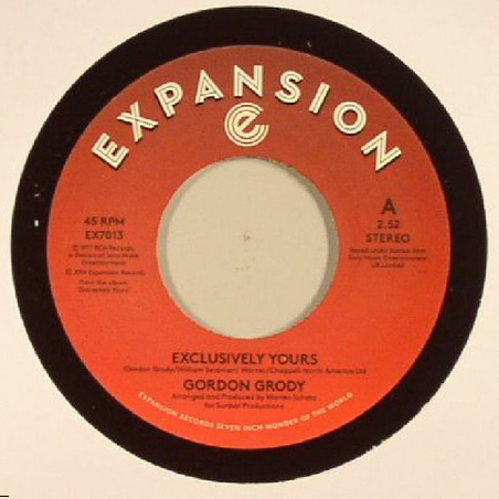 Gordon Grody - Exclusively Yours 7-Inch