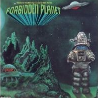 Forbidden Planet Original Soundtrack LP