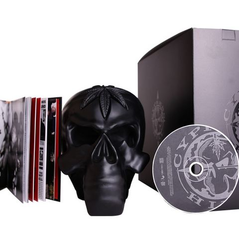 Cypress Hill - 25th Anniversary Skull (CD and Book)