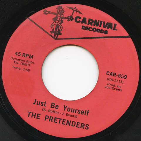 The Pretenders - Just Be Yourself 7-Inch