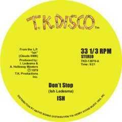 Ish - Dont Stop 12-Inch