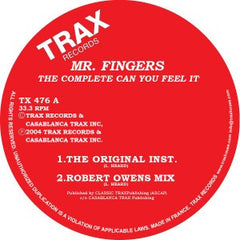Mr. Fingers - The Complete Can You Feel It EP