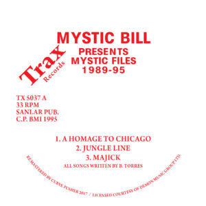 Mystic Bill - Mystic Files 1989-95 EP