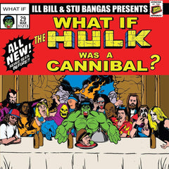 ILL BILL & Stu Bangas - Cannibal Hulk & Hulk Meat / Tales To Astonish ft. Blacastan & Spit Gemz 7-Inch (Green Vinyl)