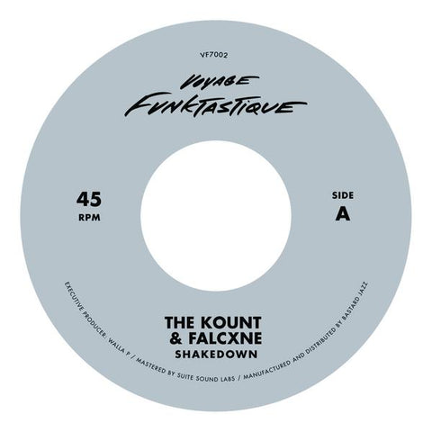 The Kount & Falcxne - Shakedown / Bungalow 7-Inc