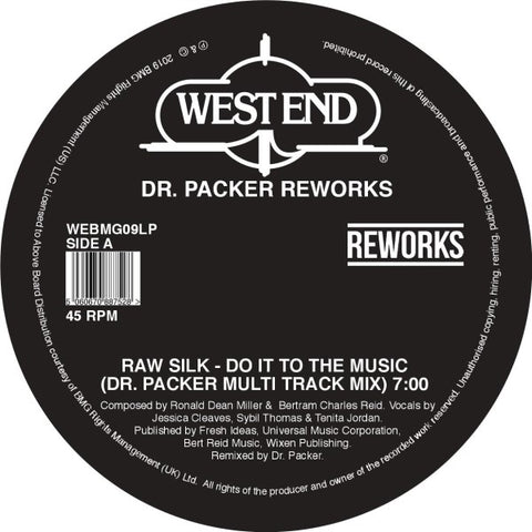 Dr. Packer - West End Reworks EP