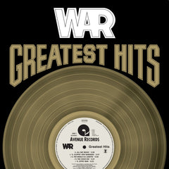 War - Greatest Hits LP (Gold Vinyl)
