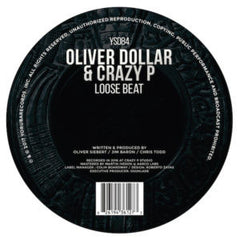 Oliver Dollar & Crazy P - Loose Beats 12-Inch
