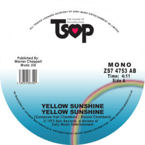 Yellow Sunshine - Yellow Sunshine 7-Inch