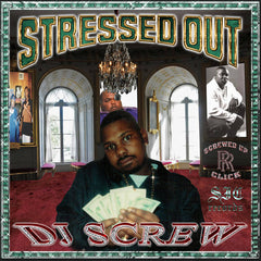 DJ Screw - Stressed Out 2LP