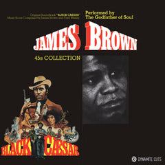 James Brown - Black Caesar 45s collection 2 x 7-Inch