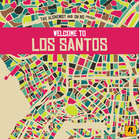 The Alchemist & Oh No - Welcome To Los Santos 2LP + Stickers + Download