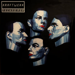Kraftwerk - Techno Pop LP (Silver Vinyl)