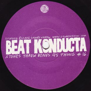Beat Konducta - 45 Thing #16