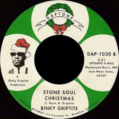Binky Griptite - World of Love / Stone Soul Christmas