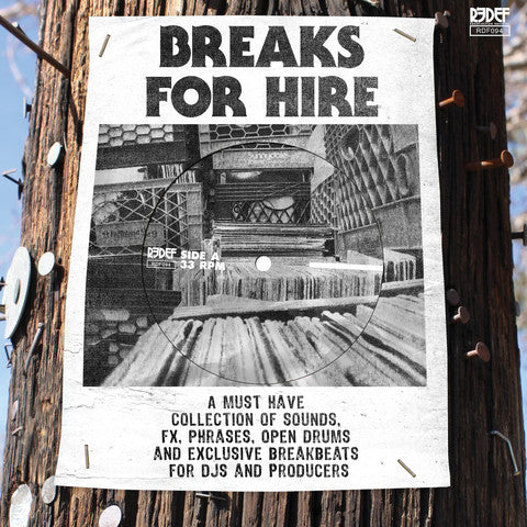 DJ Mekalek x K-Def - Breaks For Hire 7-Inch